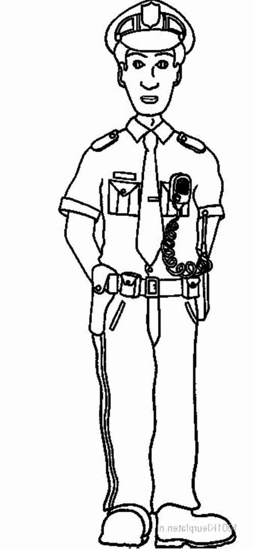 Police Officer Coloring Page Unique Police Officer Coloring Pages Cars Coloring Pages Coloring Pages For Boys Coloring Pages