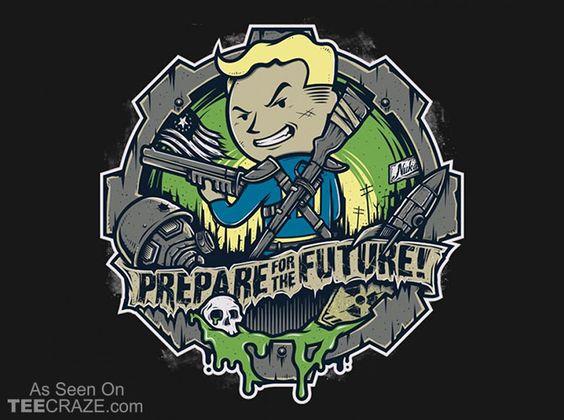 Prepare For The Future T-Shirt