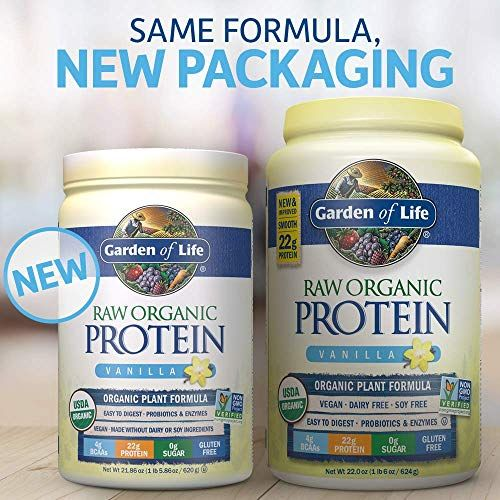 Garden Of Life Organic Vegan Protein Powder With Vitamins And