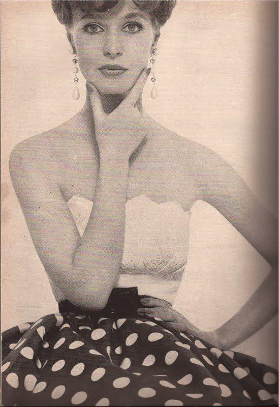 Betty Carol photo by Francesco Scavullo, Harper's Bazaar 1961