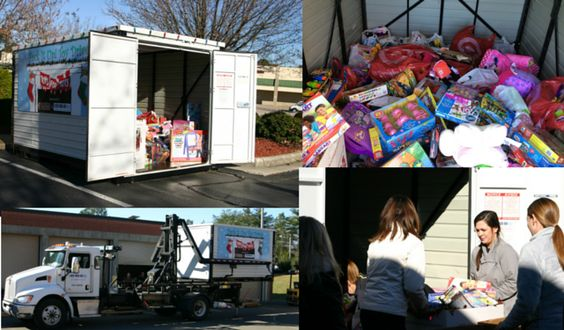 The Pack It Up! Toy Drive - a collaboration between 1-800-PACK-RAT and Buffalo Brothers collected 500 POUNDS OF TOYS for Toys for Tots!