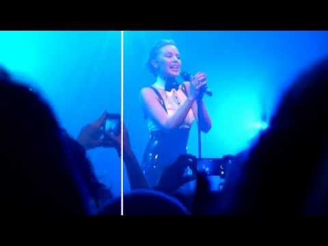 Kylie Minogue - I Should Be So Lucky Live @ Gaîté Lyrique, Paris, 14-02-2014 HD