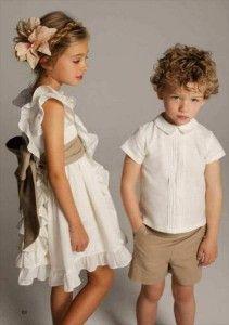 ropa de fiesta para niños de neck and neck