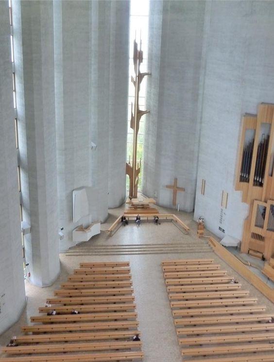 Kaleva Church, Tampere, Finland, 1966, Reima Pietila and Raili Pietila