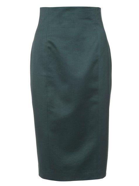 Very slimming... like Kim wears on DDD! High waisted pencil skirts ...