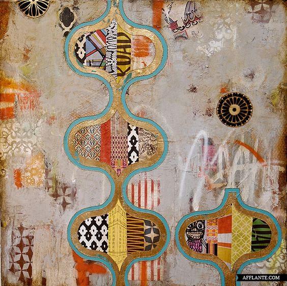 Fascinating Layered Artworks // Jill Ricchi | Afflante.com