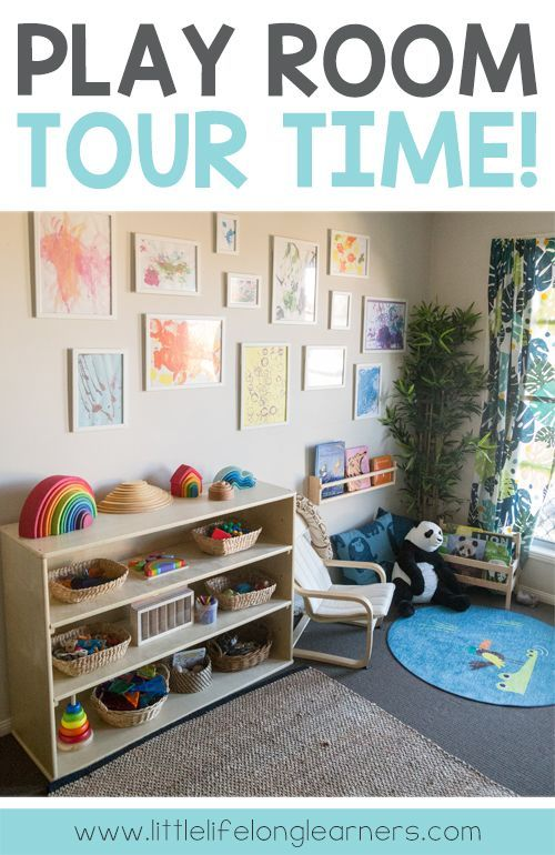 Our Play Room Tour Toddler Room Decor Toy Rooms Childcare Rooms