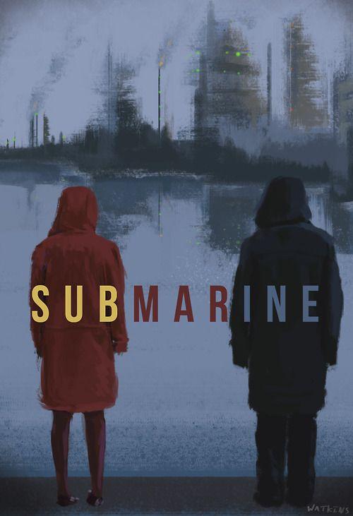 Un humor particular (I laughed out loud), pero la dirección y la fotografía me encantaron! Loved it! #submarine