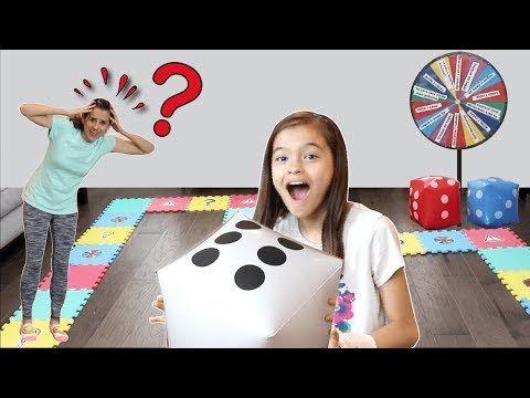 Jogo De Tabuleiro Gigante Desafio Com A Mamae Giant Board Game Challenge With Mommy Youtube Jogos De Tabuleiro Challenge Jogos