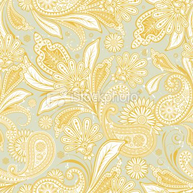 pattern with paisley