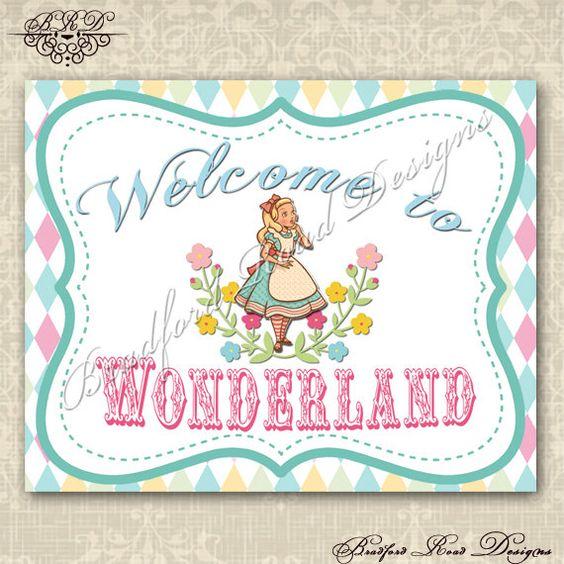 Alice In Onederland Invitations with perfect invitation design