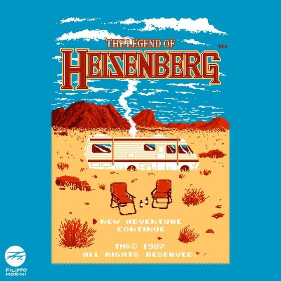 Check out this awesome 'The+Legend+of+Heisenberg' design on TeePublic! http://bit.ly/R1wb1e
