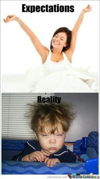 Expectations vs reality :-):