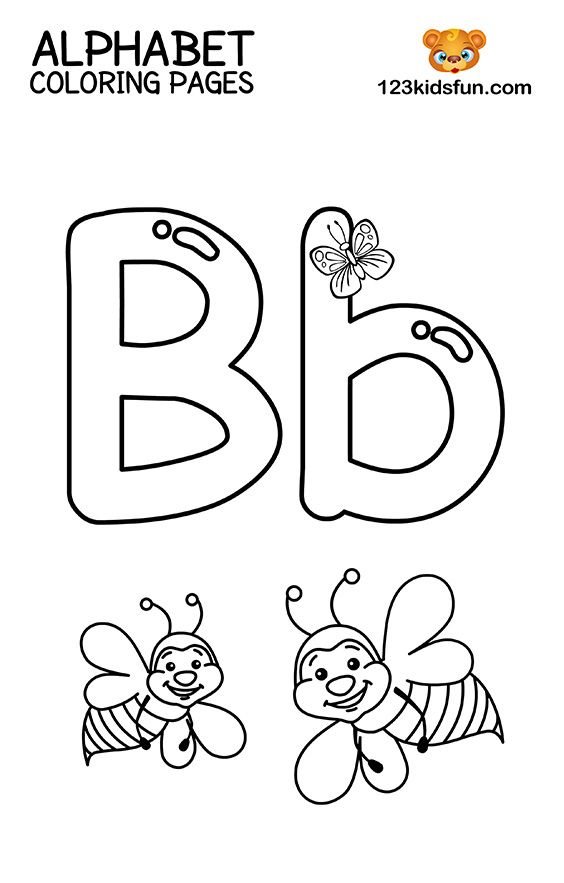 Free Printable Alphabet Coloring Pages For Kids 123 Kids Fun Apps Abc Coloring Pages Alphabet Coloring Pages Kindergarten Coloring Pages