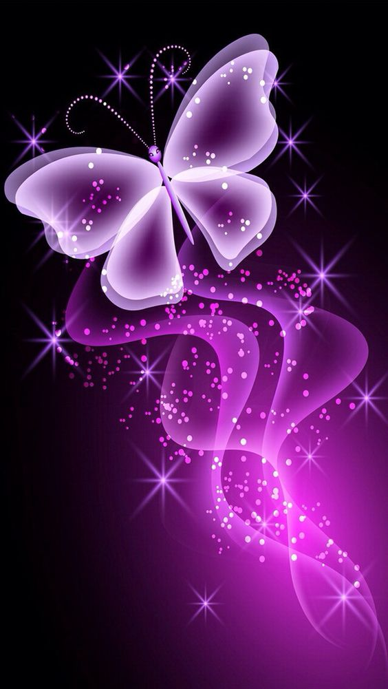 PINK BUTTERFLY IPHONE WALLPAPER BACKGROUND | Butterfly ...