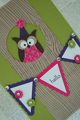 Super cute blog with lots of owl cards :)