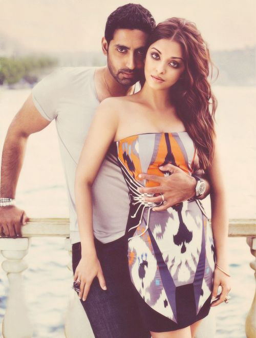 Abhishek Bachchan with his wife Aishwarya Rai. -I am going to need a picture just like this of me and hubby