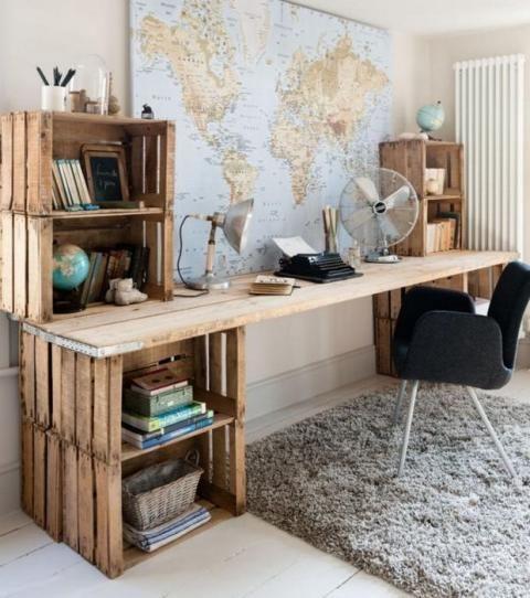 10 idées DIY à réaliser avec des palettes en bois