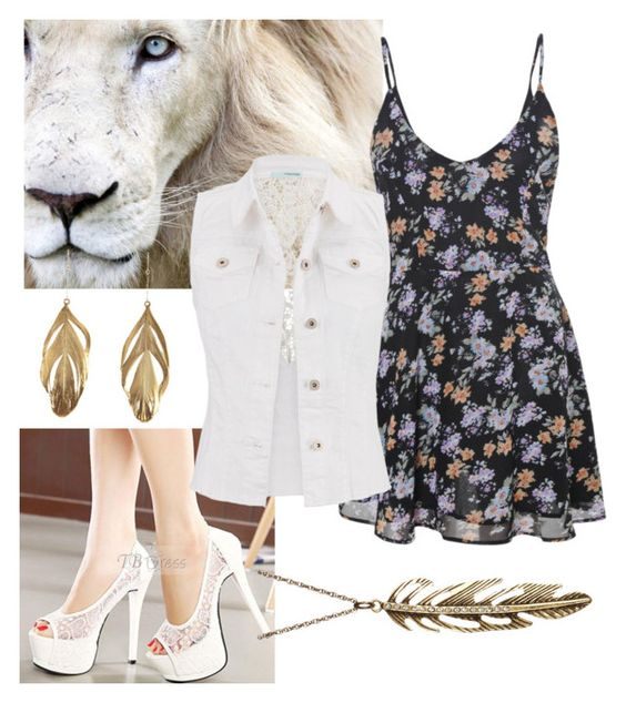 """""""Fierce"""" by rolovesrunning ❤ liked on Polyvore featuring maurices, Aurélie Bidermann and Free Press"""
