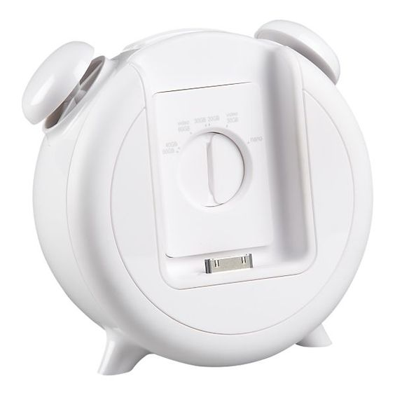 Alarm Clock Docking Station and Speakers    $49.95