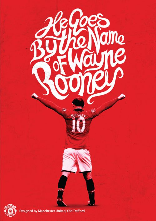 Wayne Rooney Bicycle Kick Poster