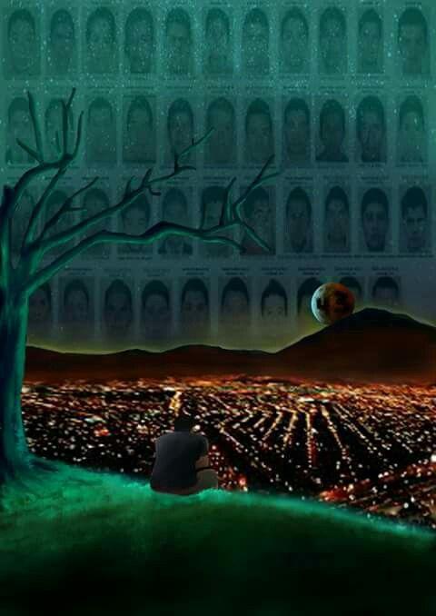 #43 #ayotzinapa #fuerapeña #solidaridad #unaño #dibujo #ilustracion