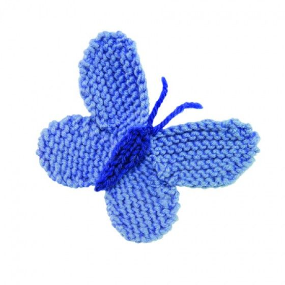 Small Flower Knitting Pattern : FREE Butterfly - Knitting Pattern Magiche creazioni pedagogia Waldorf Pin...