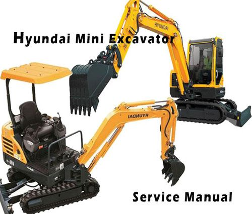 Hyundai Robex 35z 7 R35z 7 Mini Excavator Service Repair Manual Download Service Manuals Club In 2020 Mini Excavator Repair Manuals Hyundai