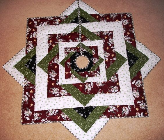 Tree Skirt Quilted 97