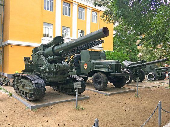 Парк ОДОРА. Военная техника на