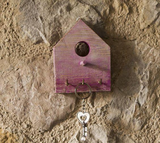 HOME appendino – Home decor - appendichiavi – appendi canovaccio – appendi presine – appendi collane – legno antico – ganci – a parete