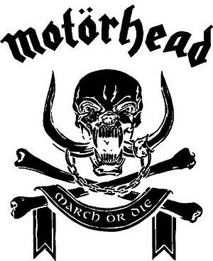 The demonic skull was designed by Joe Petagno in 1977 in consultation with Motorhead frontman Lemmy in a pub on London's Great Western Road.