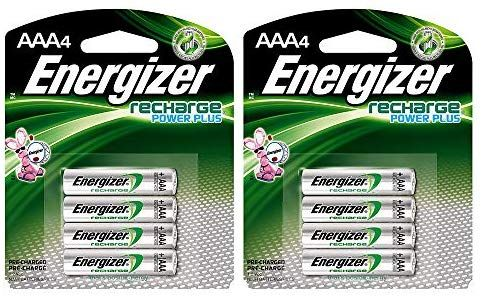 Rechargeable Aaa Batteries Nimh 800 Mah Pre Charged 4 Count Recharge Power Plus Evenh12bp4 2 Pack Energizer Nimh Cameras And Accessories