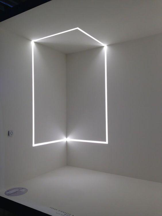 Ideas de decoraci n e iluminaci n con tiras de leds - Iluminacion led para casa ...