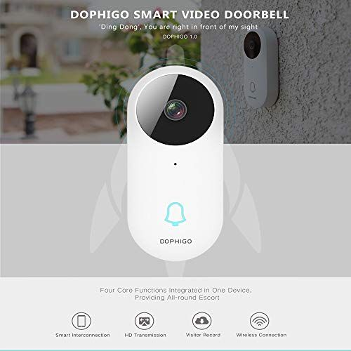 Check Out This Awesome Device For Your Home Dophigo Outdoor Hd960p Wireless Wifi Doorbell Camer Security Cameras For Home Security Surveillance Wifi Doorbell