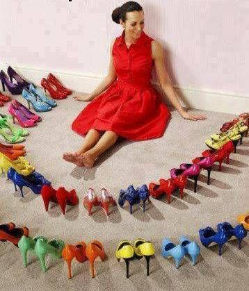 ...Louca por sapatos
