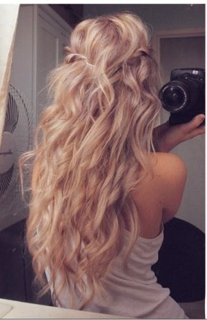 Stupendous Loose Waves Waves And Wedding Hairs On Pinterest Short Hairstyles Gunalazisus