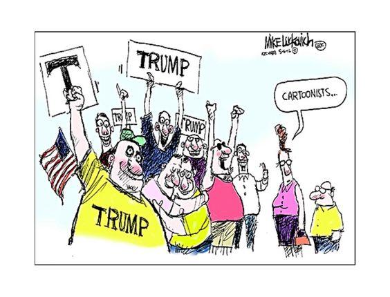 Trump . . .  Cartoon | Donald Trump