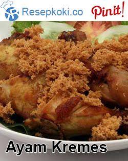 Resep Ayam Kremes Bandung