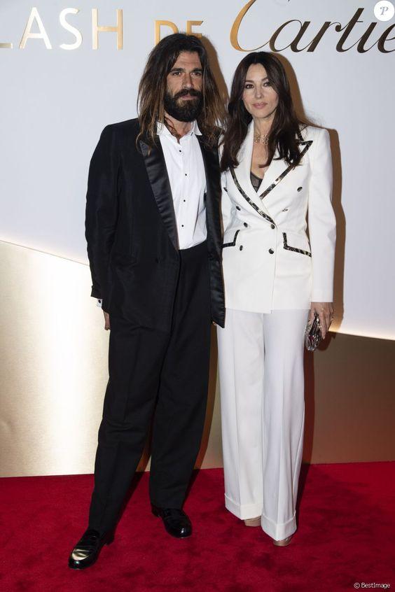 Monica Bellucci et Nicolas Lefebvre : Couple sublime à Paris pour Cartier                             - Purepeople
