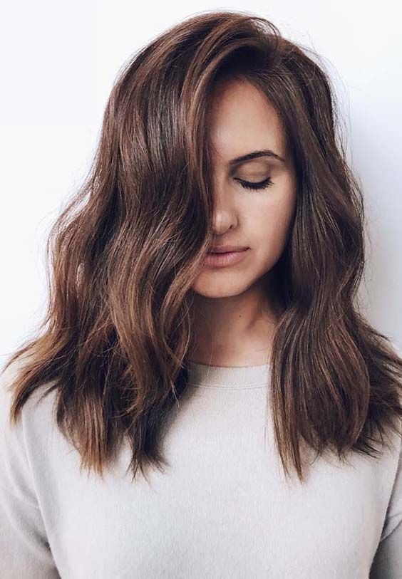 Browse Here To See The Most Beautiful And Amazing Styles Of Medium To Long Hairstyles For 2019 You Medium Long Hair Long Hair Styles Haircuts For Medium Hair