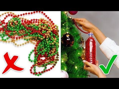 10 Brilliant Christmas Ideas Youtube Good Tips Then At About 6 00 Great Crayon Christmas Crafts Diy Christmas Gift Decorations Paper Christmas Decorations