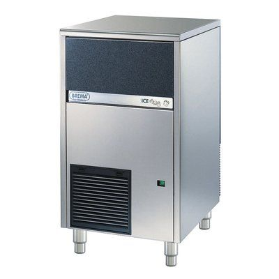 Brema 102 Lb Daily Production Freestanding Ice Maker Stainless