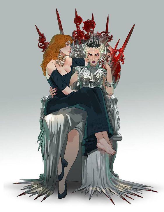 Red queen tome 4 : War storm (Fan art par freiheit)