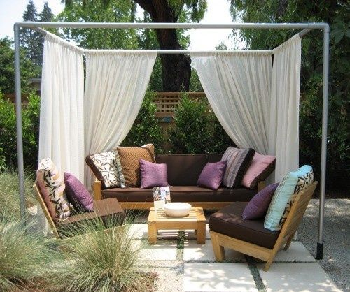 Step By Step Diy Cabana Summer Diy And Crafts And Fabrics