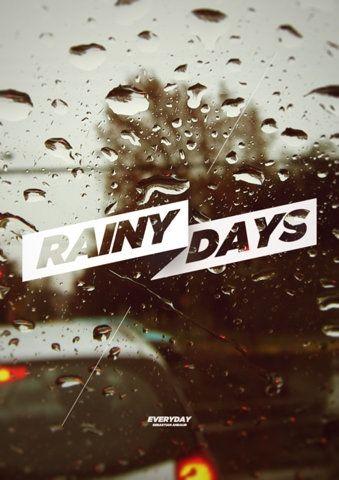 Andaur Studios / Everyday: Favorite Things, Design Poster, Andaur Studios, Graphic Design Inspiration, Rainy Days, Studios Everyday