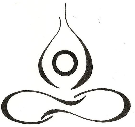 Yoga lotus drawing original tattoo by silverwingstattoos on etsy yoga poses - Se connecter a pinterest ...