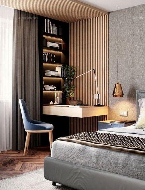 17 Elegant Bedroom Design For Small Room Slaapkamerinterieur Luxe Slaapkamer Scandinavische Slaapkamer
