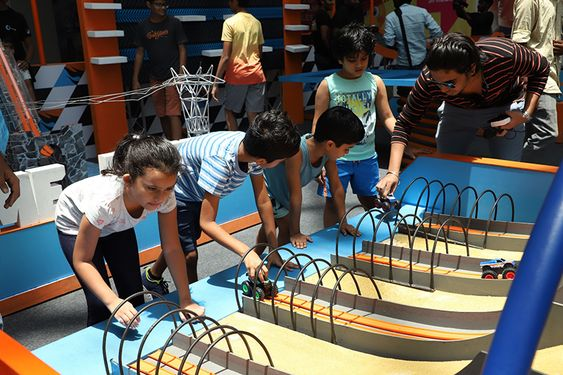 The Marina Mall Chennai Summer Decors & Fun engagements for Children by Hot Wheels