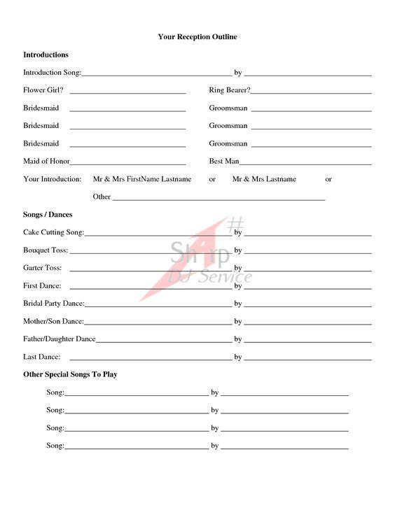 wedding ceremony outline examples | Wedding Ceremony Outline ...